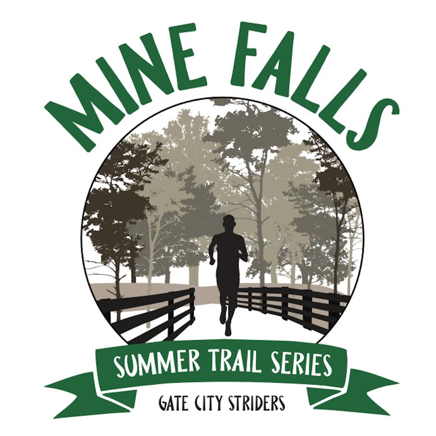 Mine Falls Summer Trail Series Logo