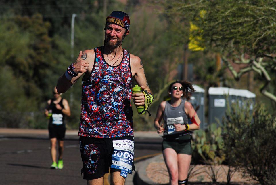 Henry Ward running
